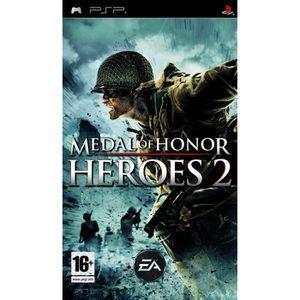 JEU PSP MEDAL OF HONOR HEROES 2 / Jeu console PSP