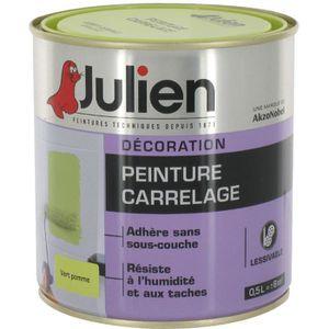 Peinture carrelage vert achat vente peinture carrelage for Peinture julien carrelage