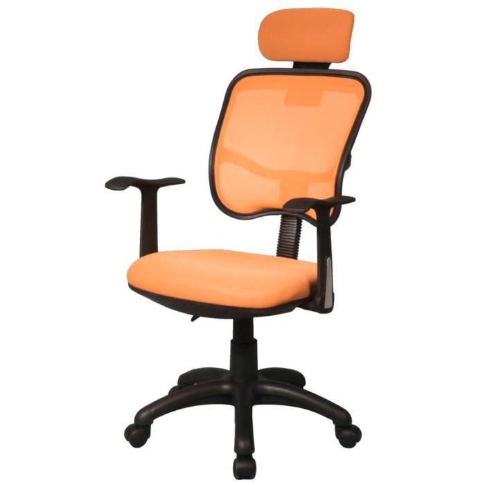 Chaise De Bureau Orange Achat Vente Chaise De Bureau