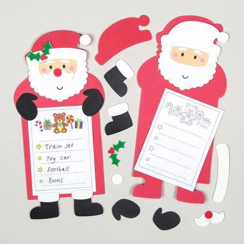 Kits de listes de cadeaux pour le p re no l que les - Cadeaux de noel a fabriquer ...