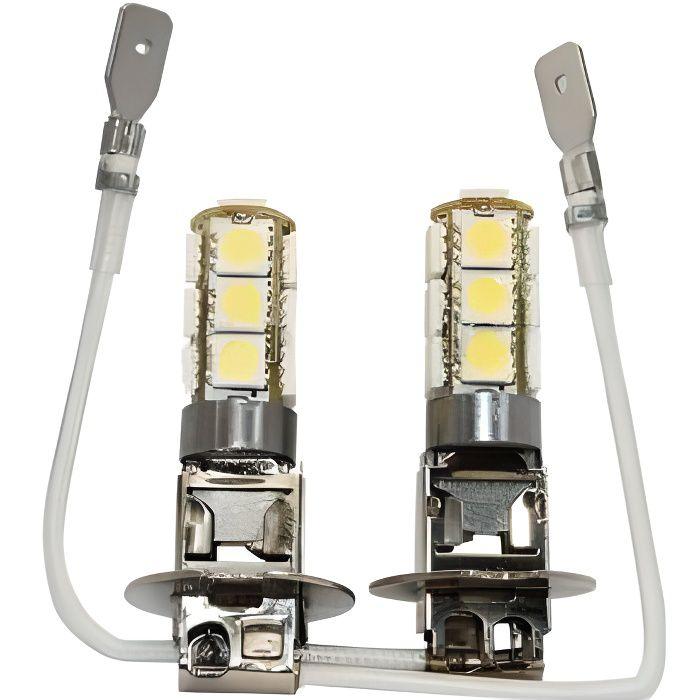 2 x ampoules h3 led smd 13 led achat vente ampoule tableau bord 2 x ampoules h3 led smd 13. Black Bedroom Furniture Sets. Home Design Ideas