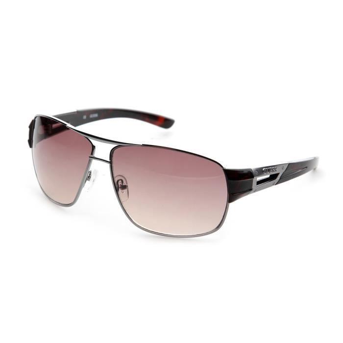 lunettes de soleil femme guess gu6757 j67 achat vente lunettes de soleil cdiscount. Black Bedroom Furniture Sets. Home Design Ideas