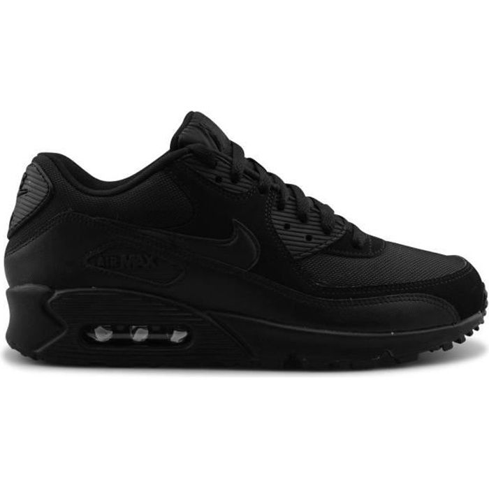nike air max motion homme - NIKE AIR MAX 90 BLACK homme NOIR- Achat / Vente NIKE AIR MAX 90 ...