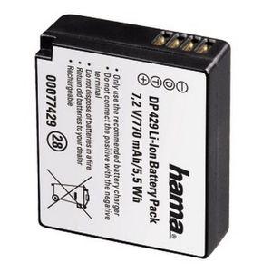 BATTERIE APPAREIL PHOTO HAMA-Batterie Li-Ion DP 429 770mA / 7,2V (équivale