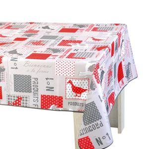 Nappe poules achat vente nappe poules pas cher soldes cdiscount - Nappe de table rectangulaire pas cher ...