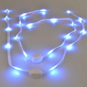 lacets led lumineux achat vente pas cher cdiscount. Black Bedroom Furniture Sets. Home Design Ideas