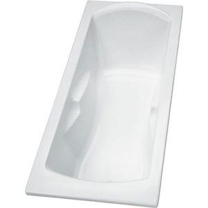 BAIGNOIRE - KIT BALNEO Baignoire rectangulaire acrylique Porcher Ulysse 2