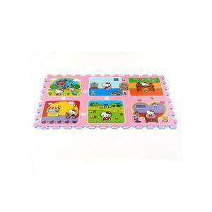 TAPIS ,Tapis Puzzle Hello Kitty ,,Maison,,,