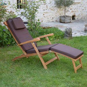 Matelas de chaises longues de jardin achat vente - Matelas pour banc exterieur ...