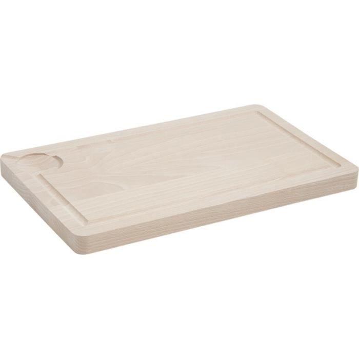 planche d couper en bois avec rainure achat vente. Black Bedroom Furniture Sets. Home Design Ideas