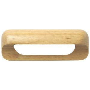 Poign e de porte ou tiroir de meuble en bois brut achat - Poignee de porte de meuble ...