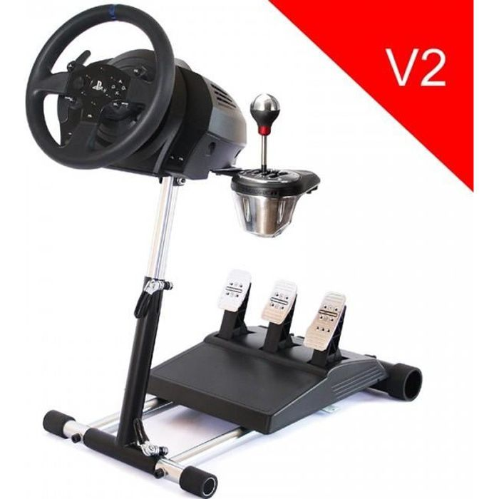 support wheel stand pro pour volant thrustmaster tx t300rs deluxe v2 achat vente. Black Bedroom Furniture Sets. Home Design Ideas