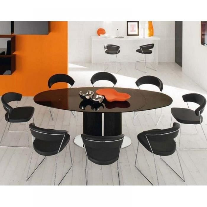 Table repas ovale extensible odyssey 165x105 no achat vente table ma - Table ovale extensible design ...