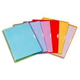 Pochette coin en pvc fard 39 liss achat vente pochette - Chemise plastique transparente ...