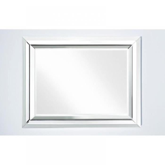 right miroir mural design en verre petit mod le achat vente miroir mdf bois carton. Black Bedroom Furniture Sets. Home Design Ideas