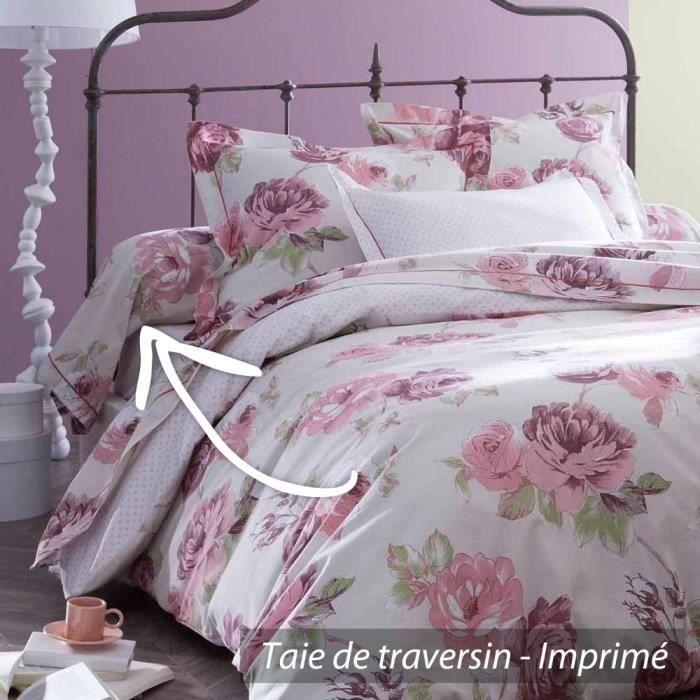taie de traversin 240x43 cm 100 coton boudoir achat. Black Bedroom Furniture Sets. Home Design Ideas