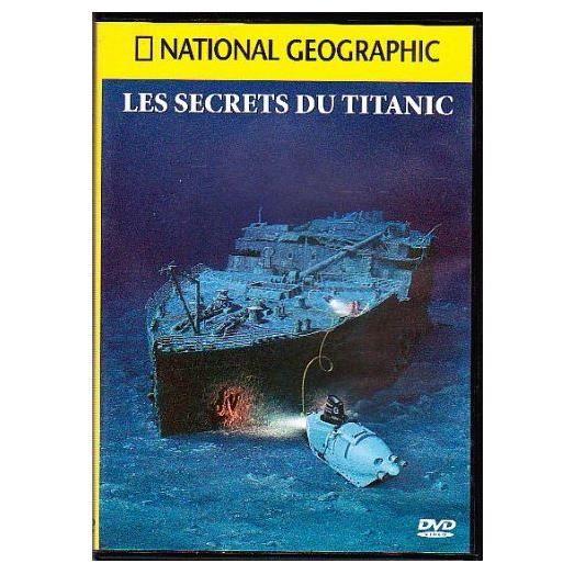 dvd national geographic les secrets du titanic en dvd documentaire pas cher cdiscount. Black Bedroom Furniture Sets. Home Design Ideas