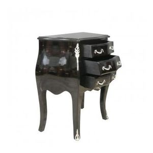 Commode louis xv achat vente commode louis xv pas cher cdiscount - Commode baroque noire ...