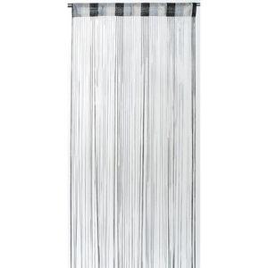 rideaux fils noirs et blancs achat vente rideaux fils. Black Bedroom Furniture Sets. Home Design Ideas