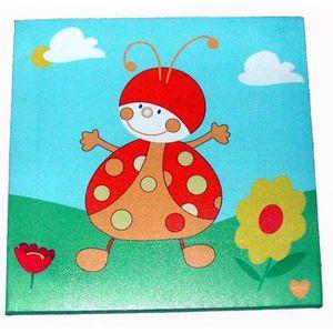 Decoration coccinelle achat vente decoration for Tableau deco chambre enfant
