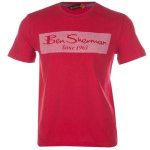 T-SHIRT T-shirt bébé à imprimé pied-de-poule Ben Sherman p