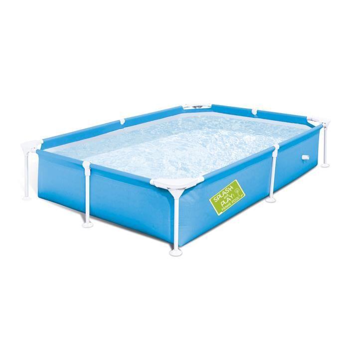piscine tubulaire amovible pour enfants bestway ma premi re piscine 221x150x43 cm achat. Black Bedroom Furniture Sets. Home Design Ideas
