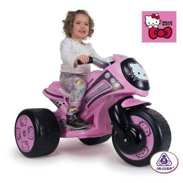 hello kitty trimoto electrique 6 volts achat vente. Black Bedroom Furniture Sets. Home Design Ideas