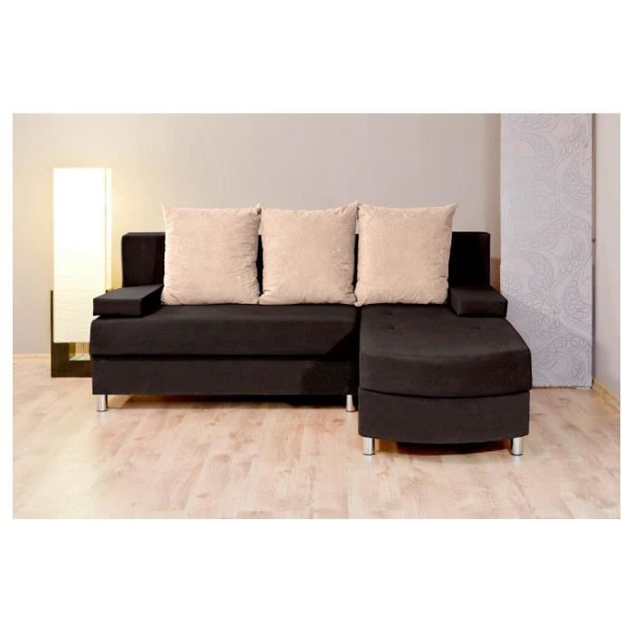 Justhome helios i canap d 39 angle l x l 175 x 200 cm - Canape d angle 200 cm ...
