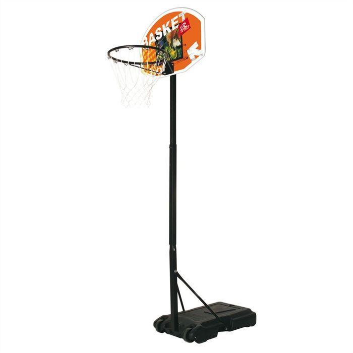 Mondo panier de basket junior ajustable de 165 205 cm achat vente panie - Panier de basket cdiscount ...