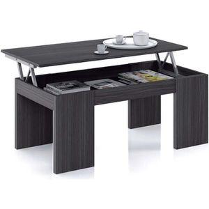 Table basse avec plateau relevable achat vente table basse avec plateau r - Table basse relevable cdiscount ...