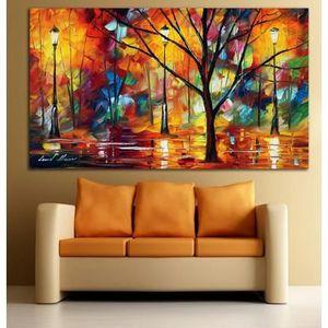 Tableaux sur toiles peinture a la main huile avec cadre - Decor discount villefranche sur saone ...