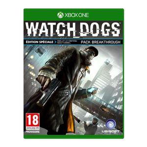JEUX XBOX ONE Watch Dogs Edition Spéciale Jeu XBOX One