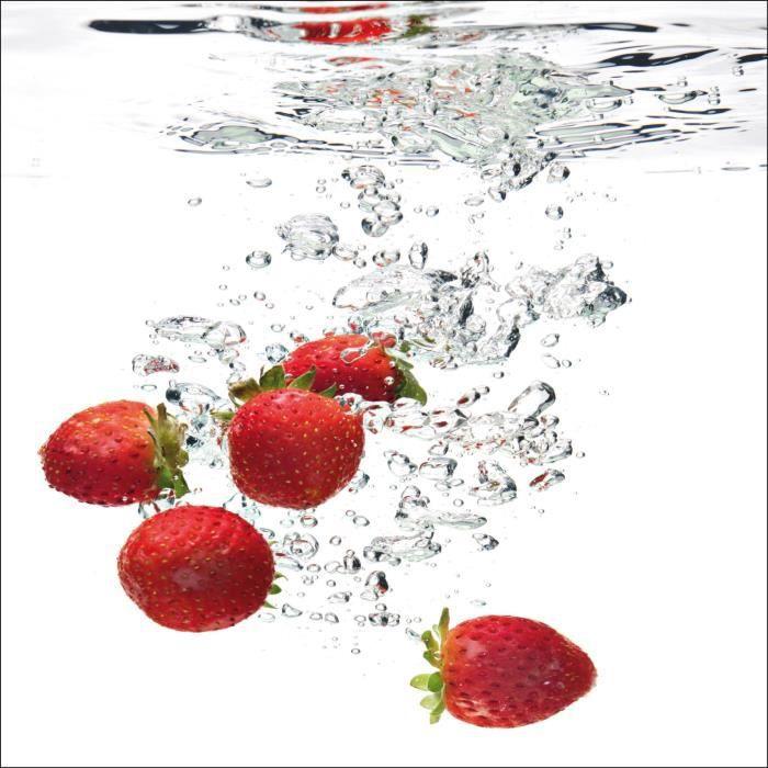 sticker lave vaisselle fraises ou magnet lave v achat vente stickers vinyl cdiscount. Black Bedroom Furniture Sets. Home Design Ideas