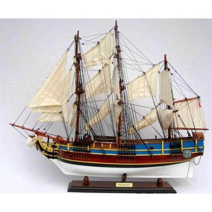 maquette en bois du hms bounty achat vente maquette de bateau les soldes sur cdiscount. Black Bedroom Furniture Sets. Home Design Ideas