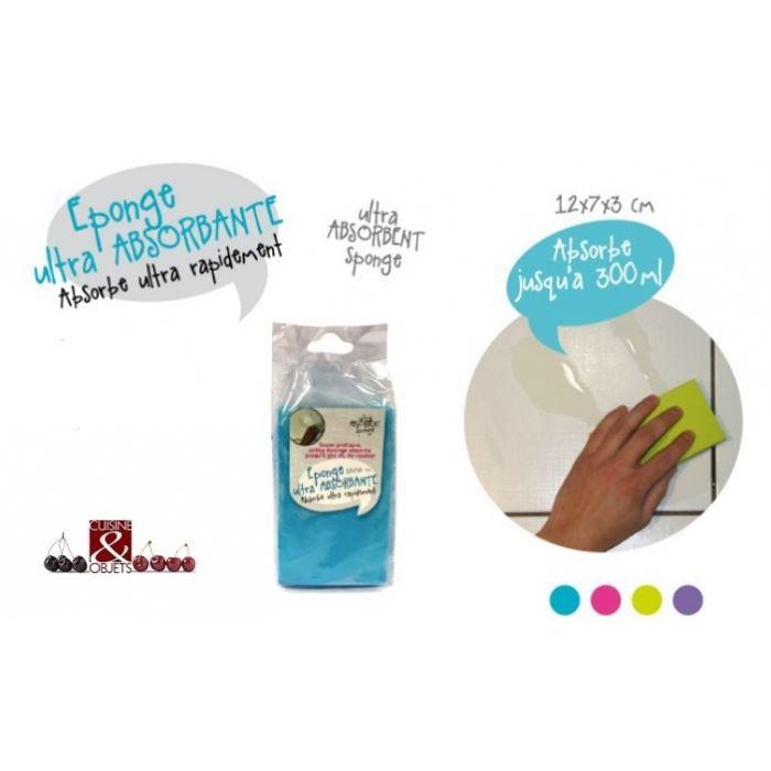 eponge magique ultra absorbante 12 x 7 x 3 cm achat vente ponge vaisselle eponge magique. Black Bedroom Furniture Sets. Home Design Ideas