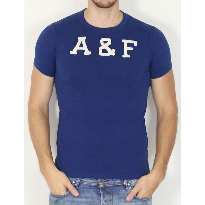 Abercrombie et fitch tee shirts marine achat vente for Abercrombie and fitch tee shirts