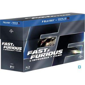 BLU-RAY FILM Blu-ray Fast and Furious - L'intégrale 7 films