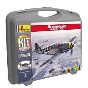 AVION - HÉLICO HELLER JOUSTRA Petite Mallette Messerschmitt Bf109