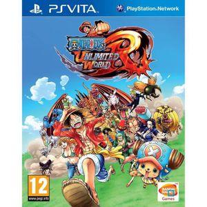 JEU PS VITA One Piece Unlimited World Red D1 Ps Vita