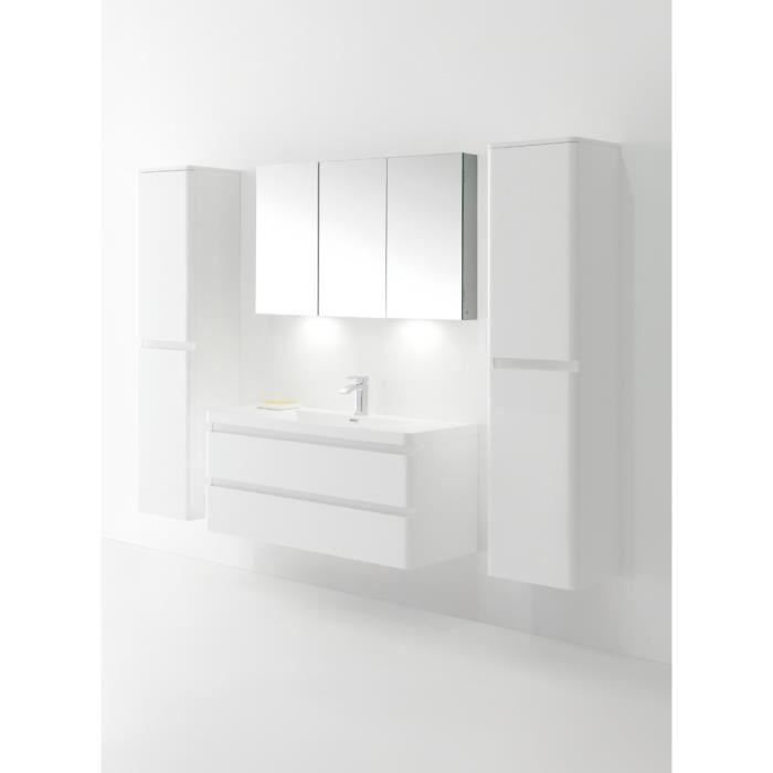 interougehome armoire miroir salle de bain lumineux avec. Black Bedroom Furniture Sets. Home Design Ideas