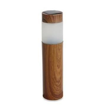 Lampe solaire de jardin achat vente lampe solaire de jardin plastique bois cdiscount for Lampe solaire jardin brico
