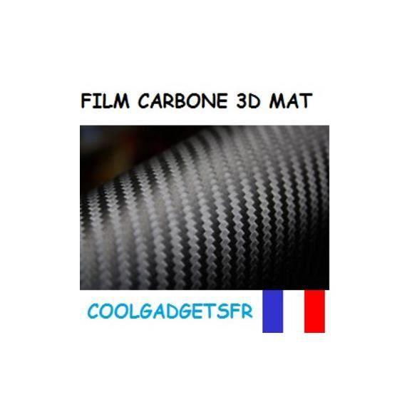 film carbone 3d mat vinyl voiture exterieur int achat vente amenagement interieur film. Black Bedroom Furniture Sets. Home Design Ideas
