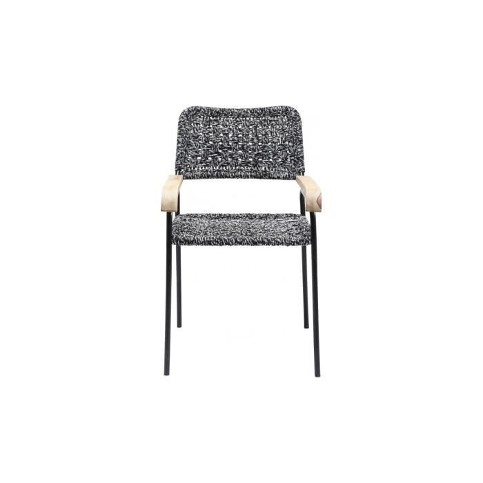 Chaise avec accoudoirs rope kare design achat vente chaise cdiscount for Chaise kare design