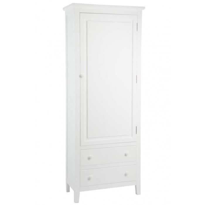 armoire blanche 1 porte achat vente armoire blanche 1. Black Bedroom Furniture Sets. Home Design Ideas