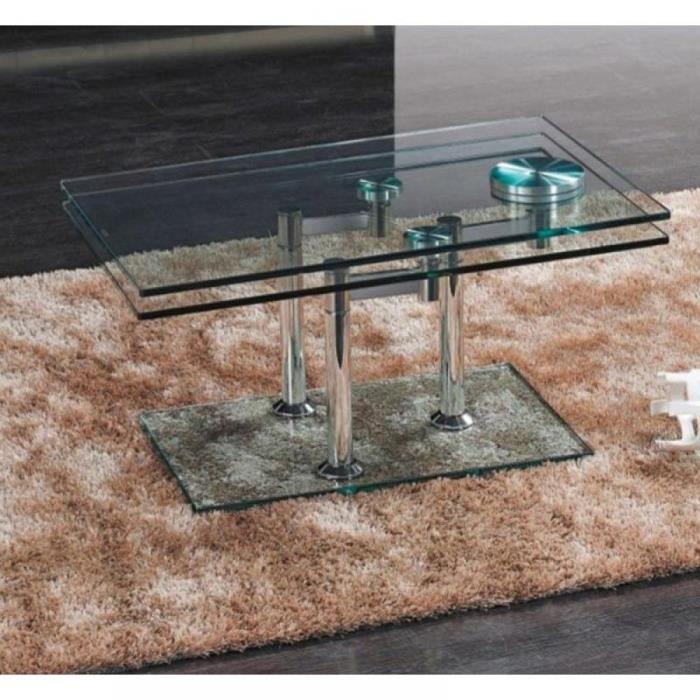 Table basse plateau pivotant mobilier sur enperdresonlapin - Table basse verre plateau pivotant ...