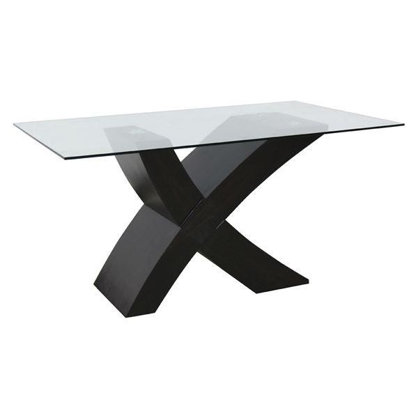 Table rectangulaire en verre images - Table rectangulaire en verre ...