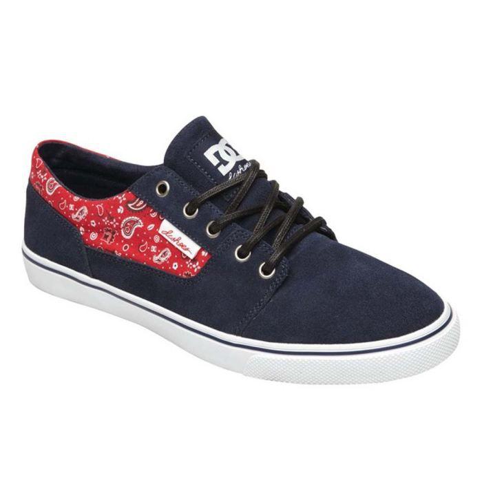 chaussures mode dc shoes bristol femme bleu achat. Black Bedroom Furniture Sets. Home Design Ideas