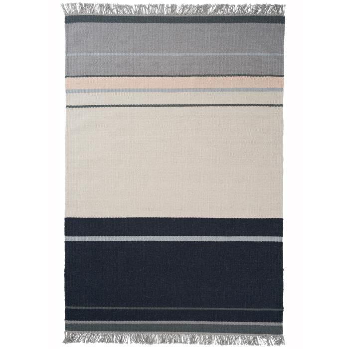 tapis pour salon kilim metallum gris 200x300 par unamourdetapis tapis moderne achat vente. Black Bedroom Furniture Sets. Home Design Ideas