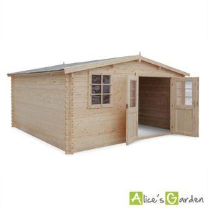 Abri en bois achat vente abri en bois pas cher les - Abri de jardin soldes ...