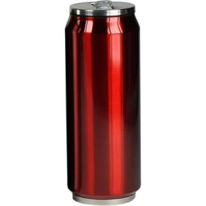 YOKO DESIGN Canette Isotherme 500 ml - Rouge